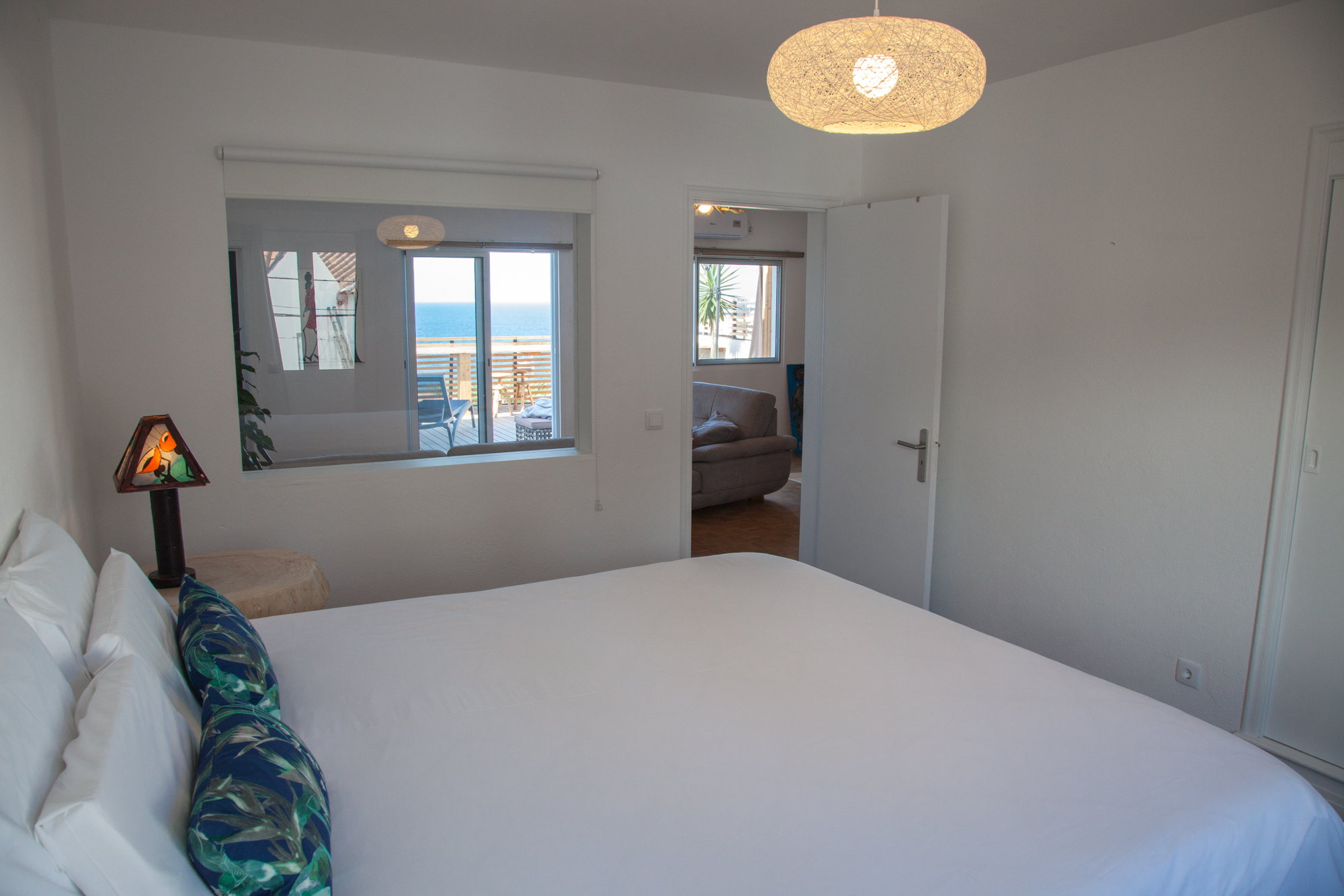 Azores Accommodation Villa Terra Bedroom queen Bed - Azores Connections.jpg