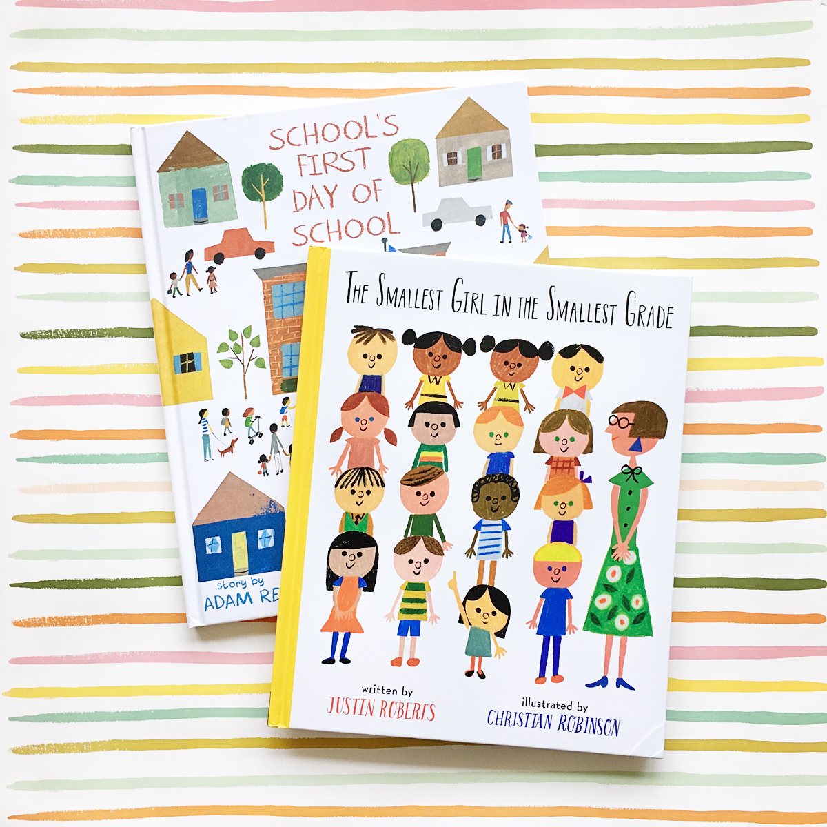 School's First Day of School and The Smallest Girl in the Smallest Grade | Books For Diversity