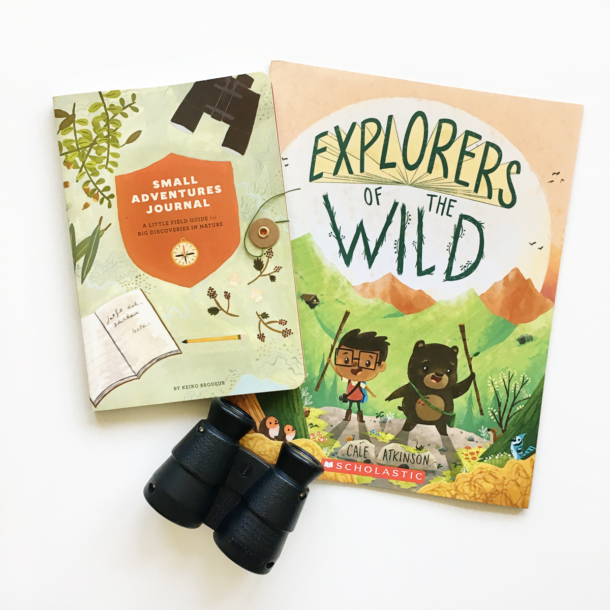 Small Adventures Journal and Explorers of the Wild | Books For Diversity