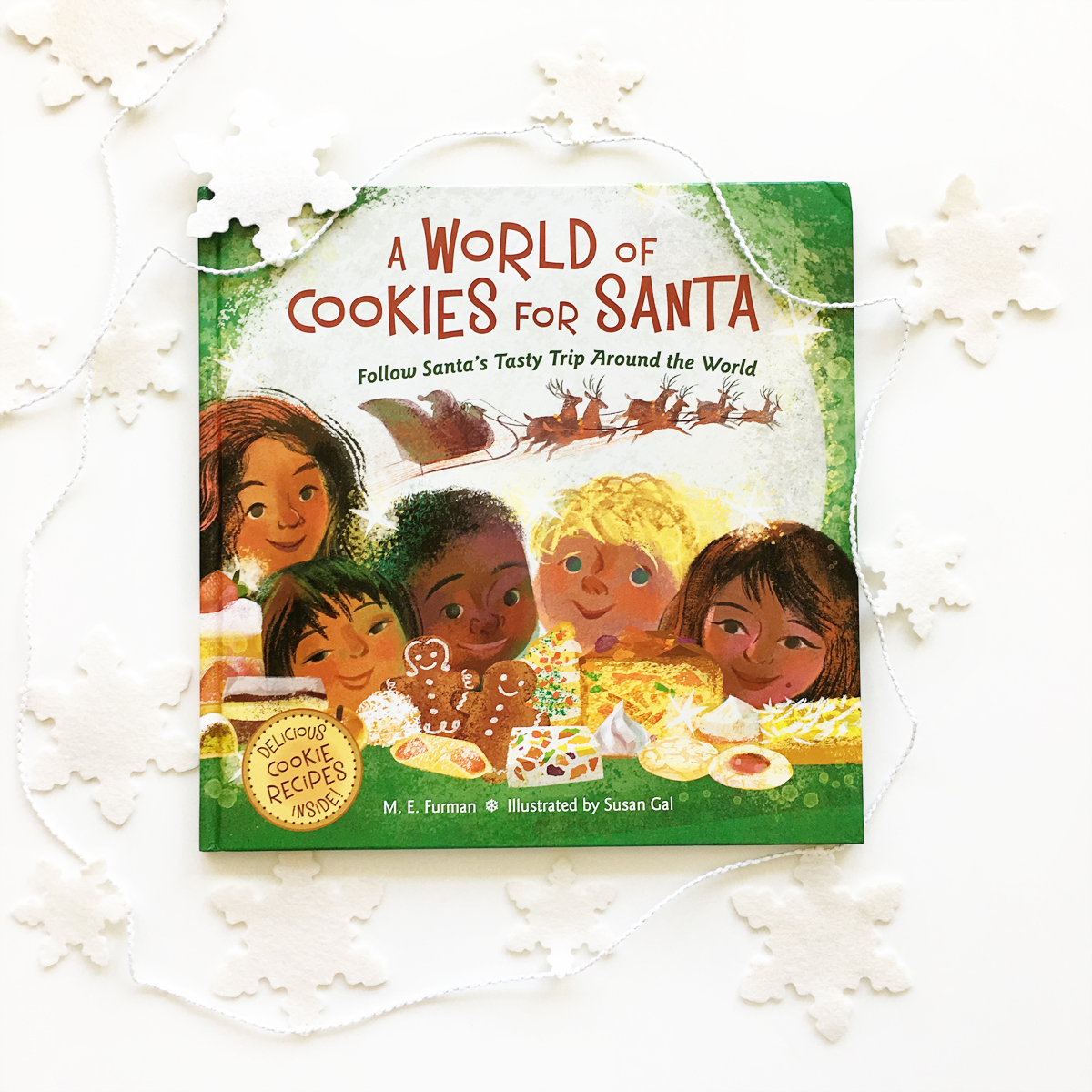 A World of Cookies for Santa: Follow Santa's Tasty Trip Around the World | Books For Diversity