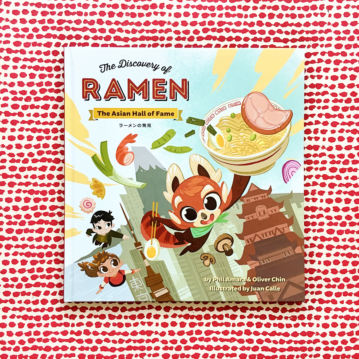 The Discovery of Ramen: The Asian Hall of Fame | Books For Diversity