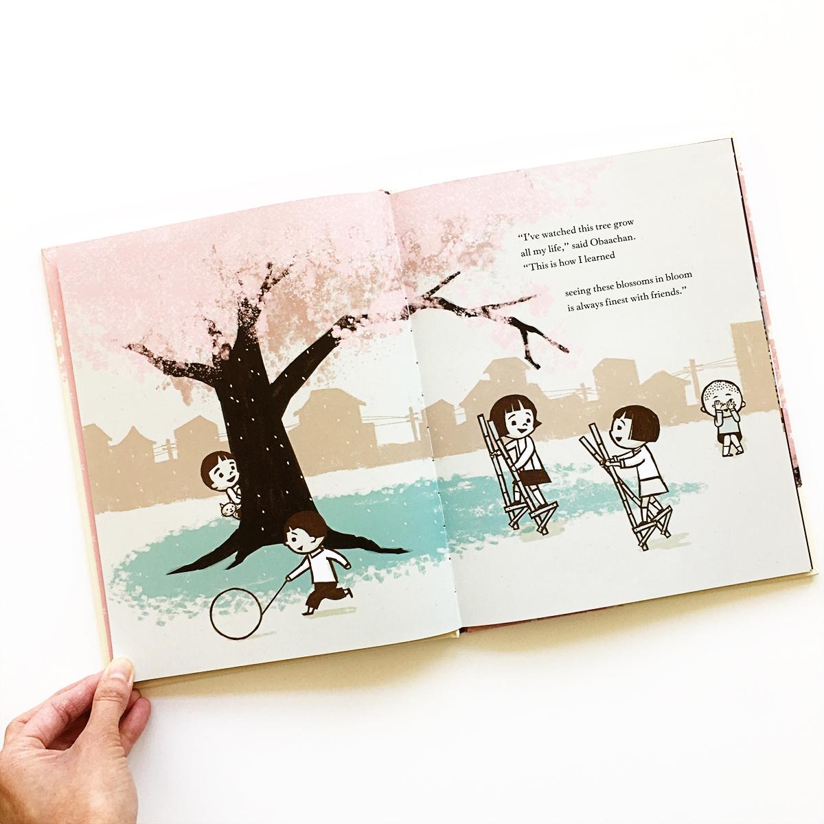 Sakura's Cherry Blossoms   Books For Diversity