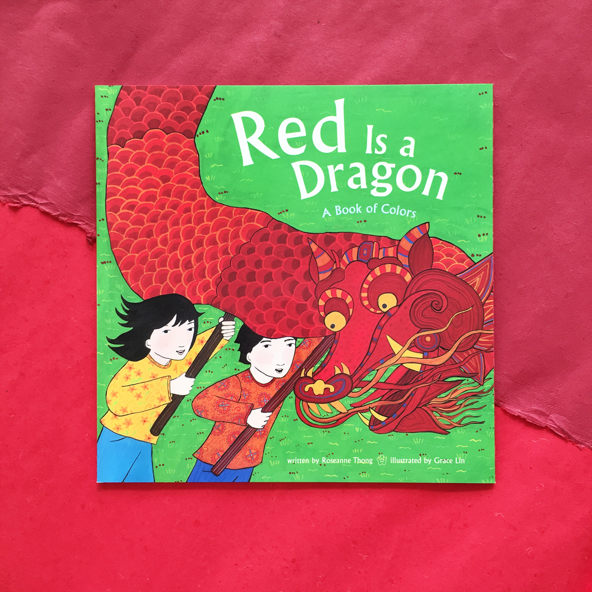 Red Is a Dragon | Books For Diversity