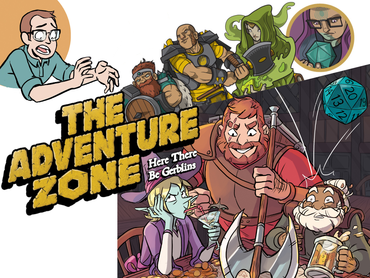 ENTERING 'THE ADVENTURE ZONE' PART II: INTERVIEW WITH CLINTON, TRAVIS, AND CAREY -