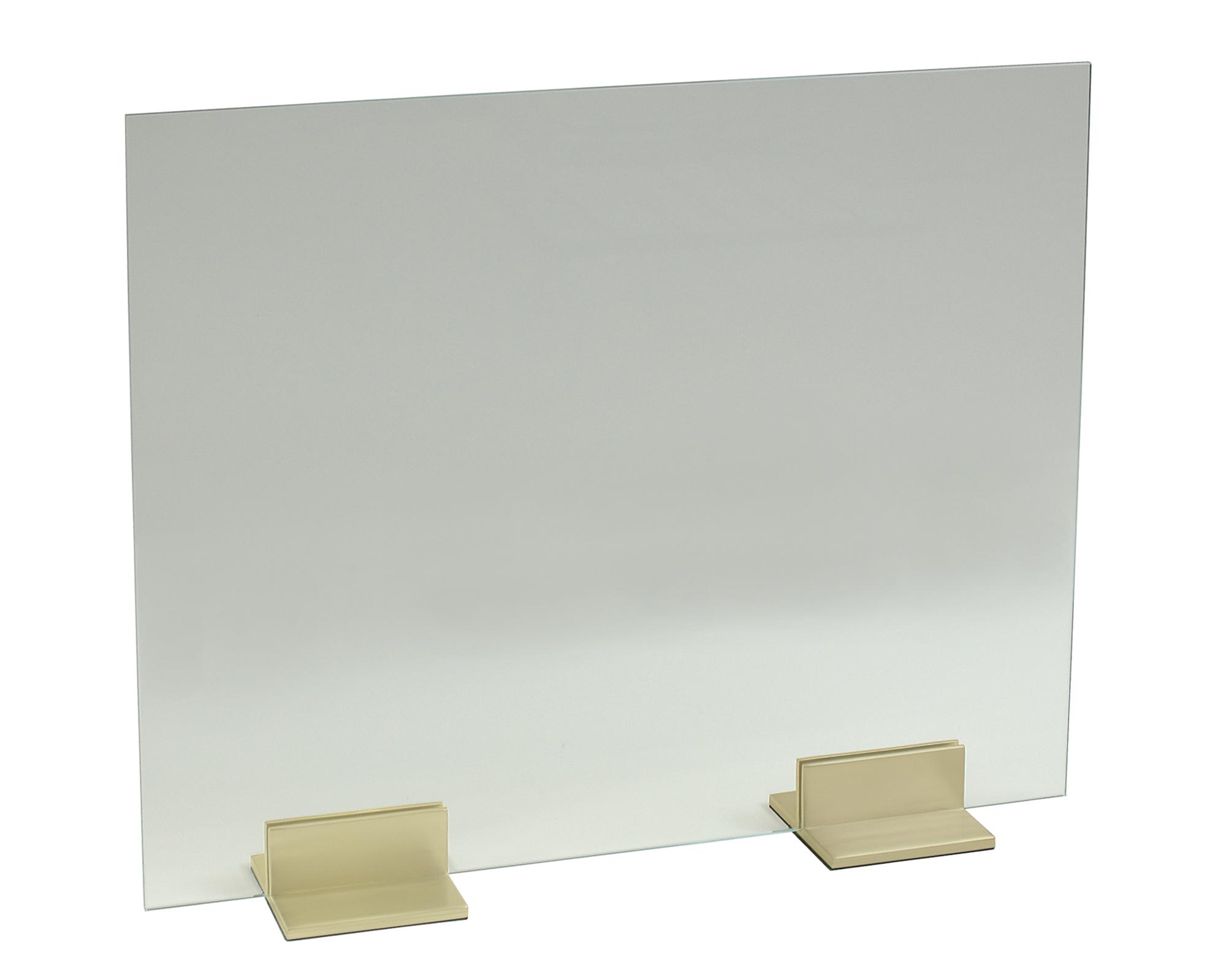 Glass Panel with 6 inch Channel Feet (Satin Brass).jpg