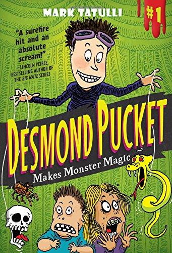 mark tatulli, book, desmond pucket makes monster magic