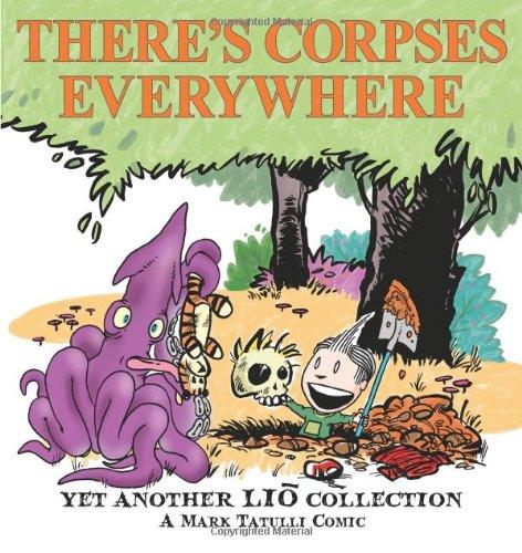 mark tatulli, book, there's corpses everywhere