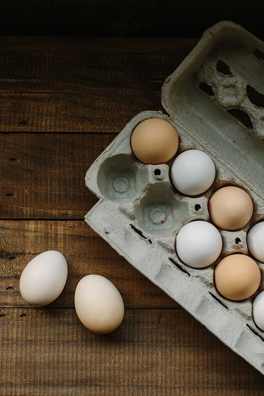 Rooted Gypsy farm fresh eggs