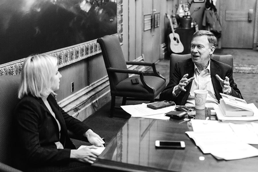 Governor Hickenlooper in his office in Denver.jpg