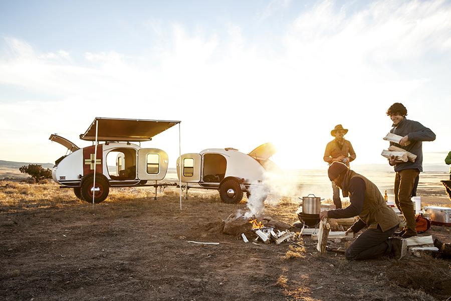 Vintage Overland makes vintage inspired, craftsmen built caravans in Grand Junction, Colorado.