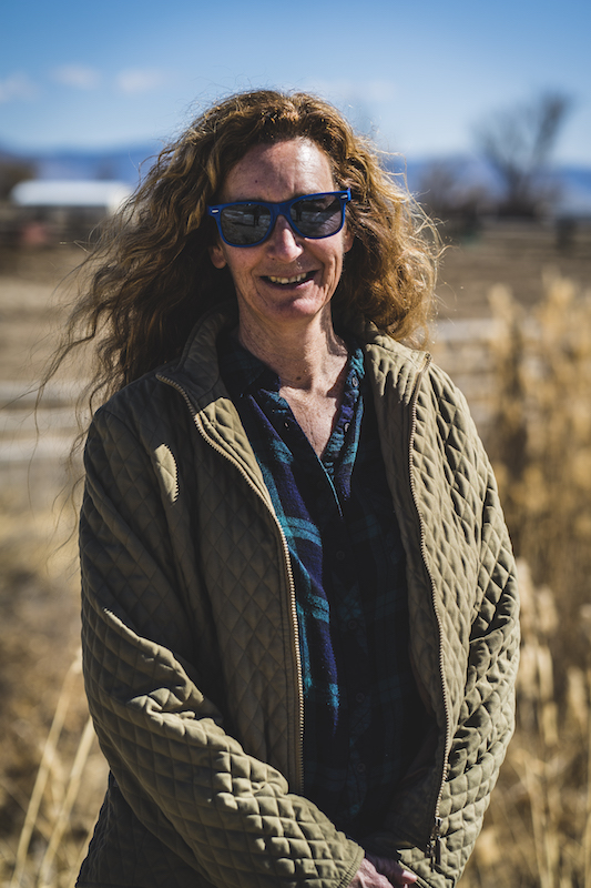 Rancher and veterinarian Kathryn Bedell