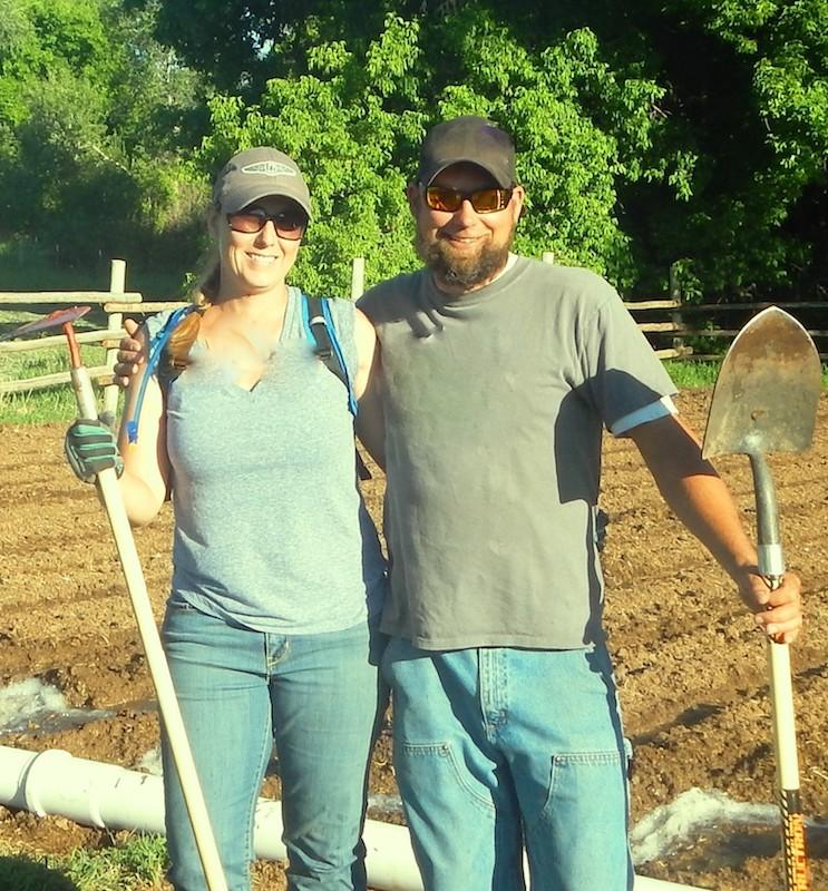 Margaret and Aaron MacKenzie, owners of Salt Creek Hemp Company
