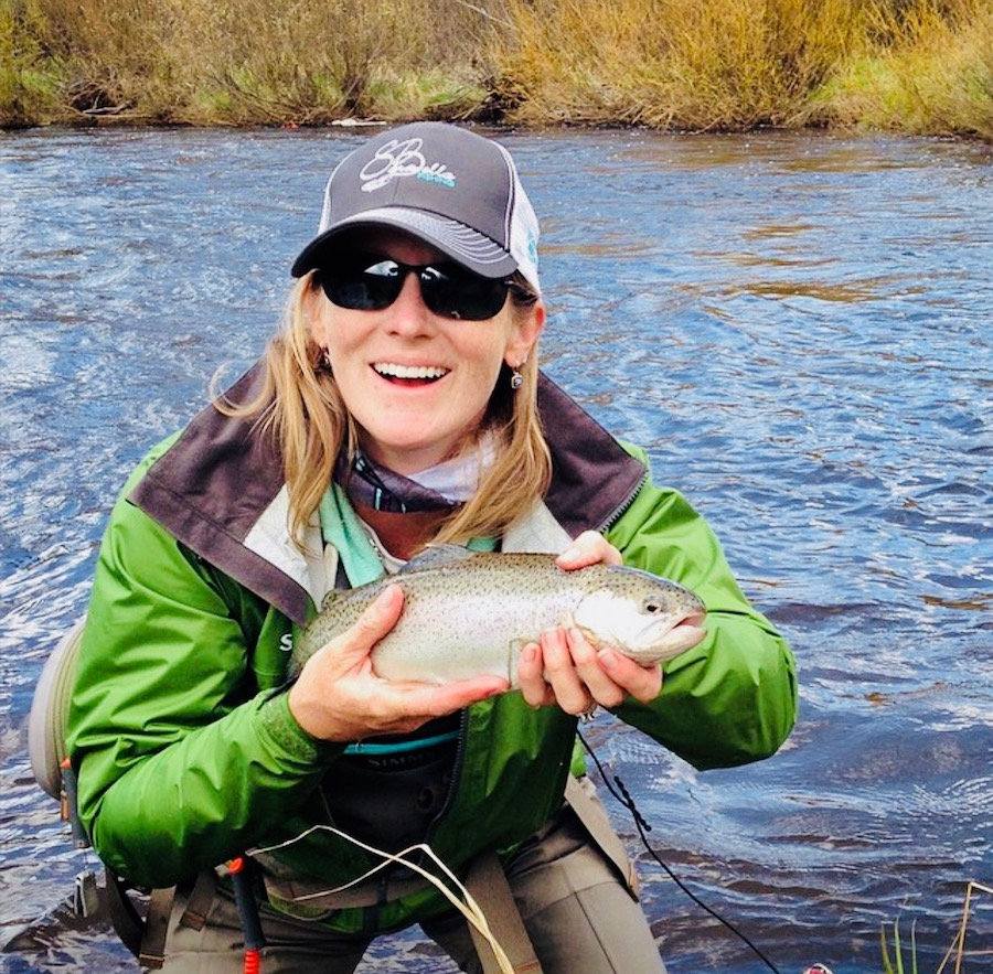"""SaraBella Fishing      @sarabellafishing     Flyrods for """"smart and beautiful fishing,"""" handcrafted right here in Colorado. Follow fisherwomen and their adventures as you get to know this company with a conscience centered around human rights, female empowerment, community support, and health/wellness."""