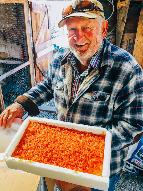 Longtime fisherman Don Nichols built his Collbran hatchery in 1960.