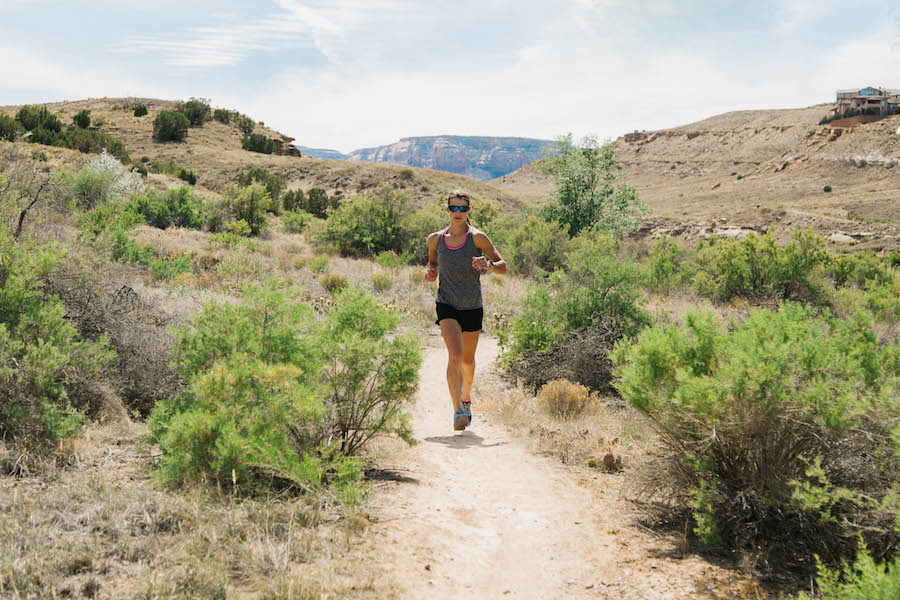 Mandy Harter wants to make sure the land she enjoys now as a mountain biker and runner are there for her young daughter.