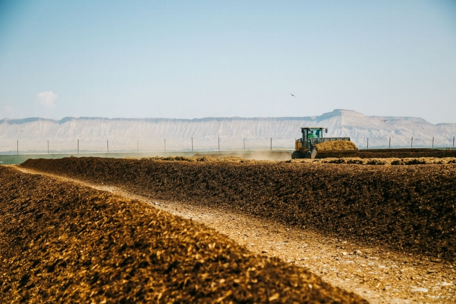 """Mesa County Landfill's campus includes dedicated composting facilities. Specialized equipment breaks down compostable waste like spoiled tree fruit, tree limbs, and leaves into a soil amendment known throughout the Grand Valley as """"Mesa Magic."""" It's sold at the landfill commercially and local garden centers."""