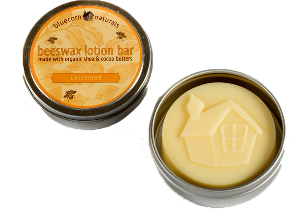 Beeswax Lotion Bars, $10