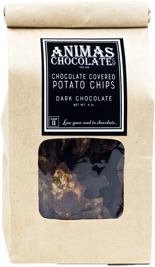 Animas Chocolate Potato Chips, $9