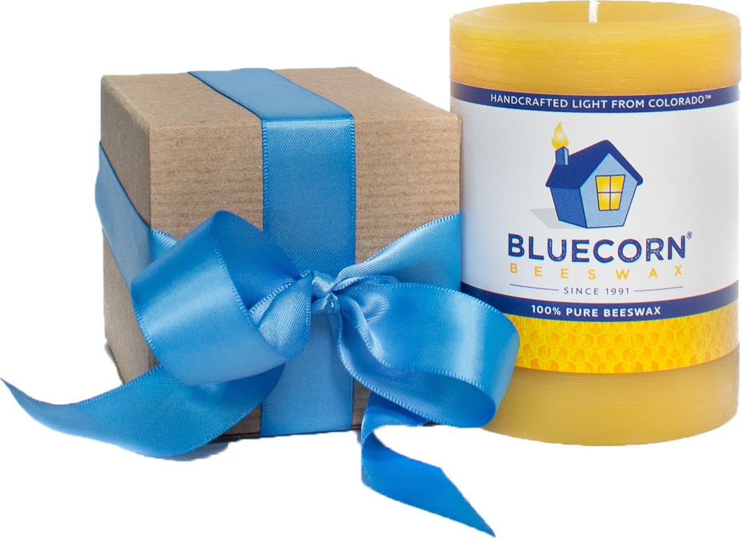 Bluecorn 100% Beeswax Candles, $14-24