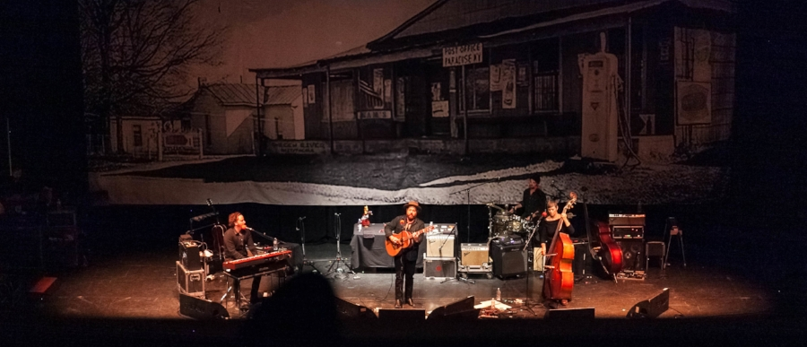 Nathaniel Rateliff plays the Avalon Theater in downtown Grand Junction.