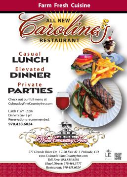 Caroline's Restaurant at Wine Country Inn