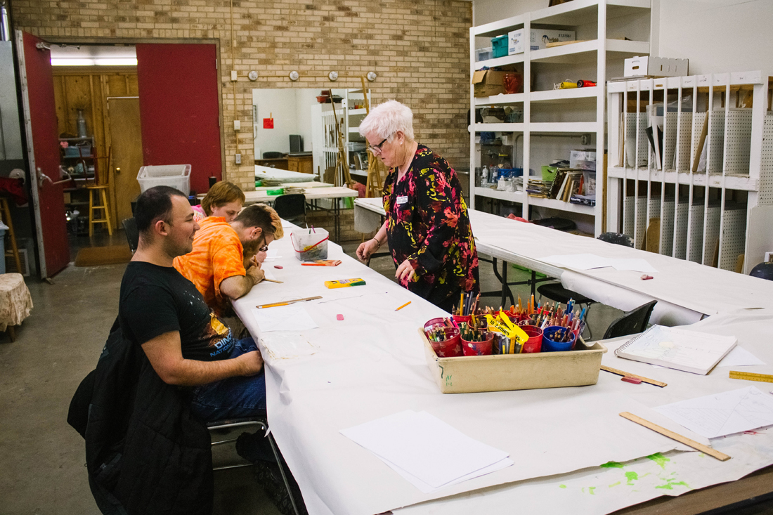 An art instructor of nearly three decades, Rachel Egleston has a knack for engaging people in creativity.