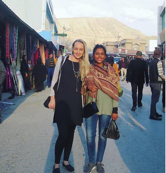 - Jo & Charlotte from 'I am Shine - I am Strength' initiative in Northern Iraq - Kurdistan