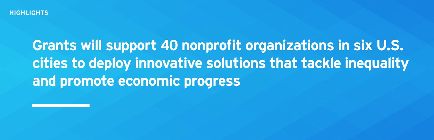 citi foundation awards start small think big $500,000 grant