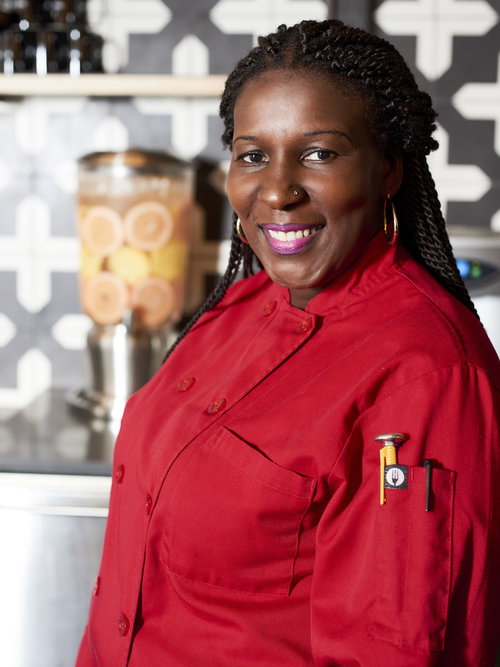 """""""People used to ask me to make cakes for them, but I never thought of it as a career,"""" says Joann Poe, owner of """"Best Dressed Cupcakes""""."""