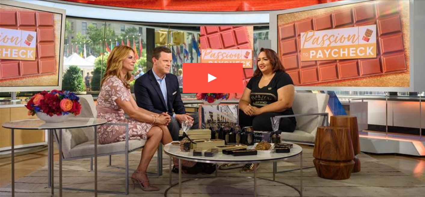 "Jessica featured on TODAY with Hoda & Jenna! Click to view the ""Passion to Paycheck"" segment."