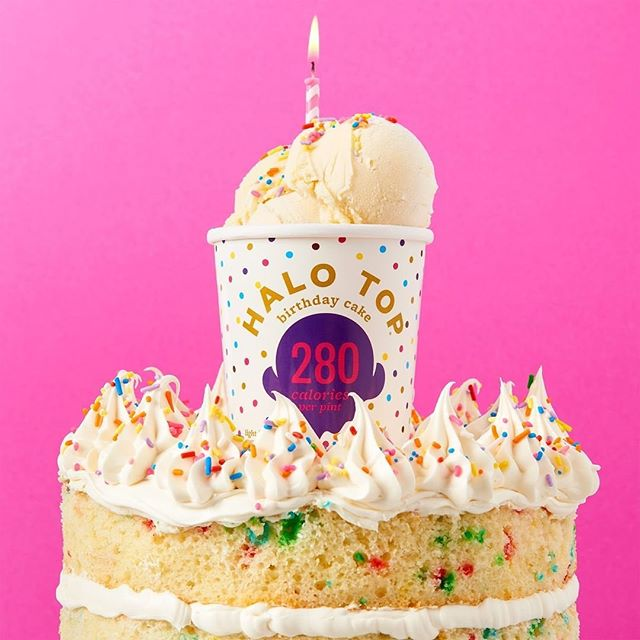 Three new flavors better known as three new excuses to visit your local Halo Top Scoop Shop! Now scooping: Birthday Cake, Cookies and Cream, and Non-Dairy Candy Bar!