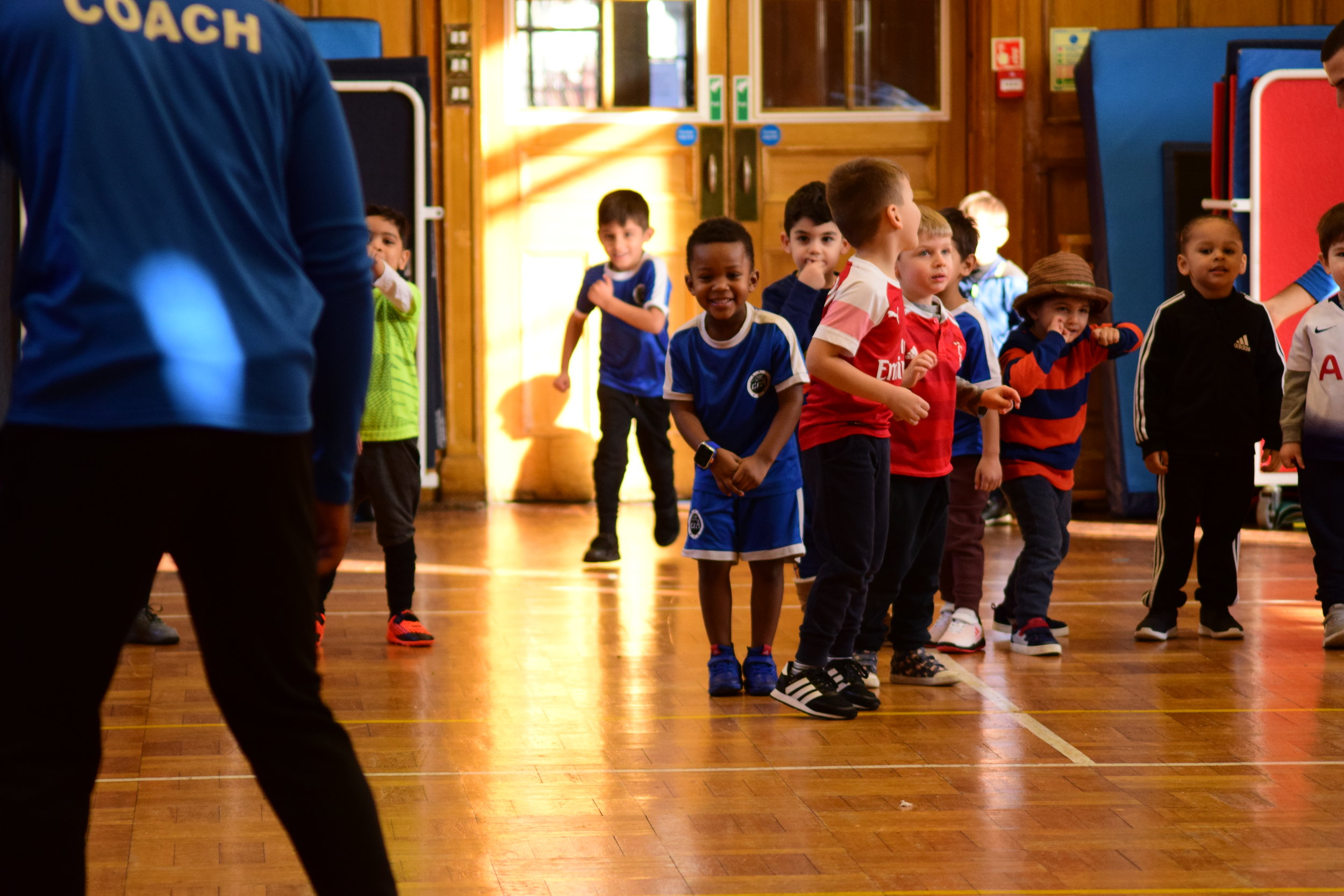 Busy Bees Enfield - Thursday: Football sessions at Busy Bees Enfield*Promotional offer - £2.50 per class until October half-term (there-after it will be £5 per class)