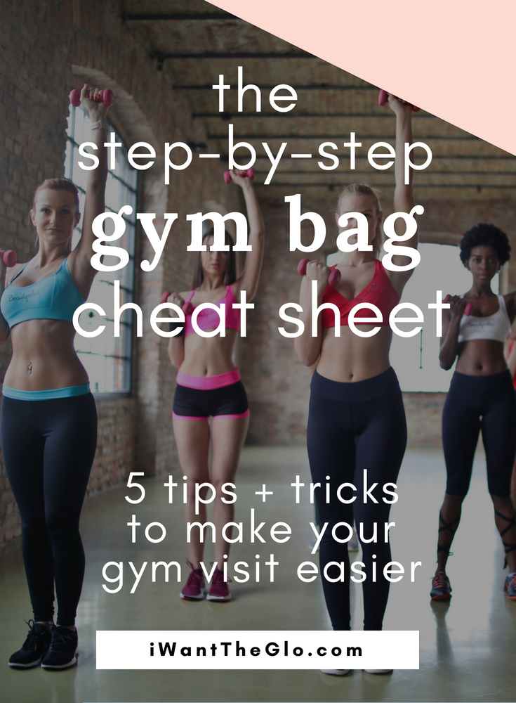 Ever wonder how you can make the contents of your gym bag work harder for you? Here is my cheat sheet for the 5 must-have products that should be in your gym bag. These essentials will make your visit to the gym easier and more efficient, plus it's always easier to get your workout in when you aren't stressed about what's in your gym bag!