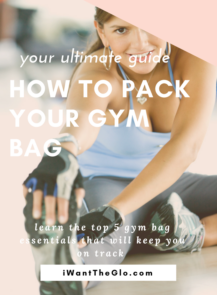 Ever feel like you haul around the contents of your bathroom sink in your gym bag?  So, I started over and only added in the essentials - which ended up being 5 things. Here is my easy cheat sheet of what you should always have stashed in your gym bag. It'll save you during those rough early mornings when you only have a minute to pull it together.