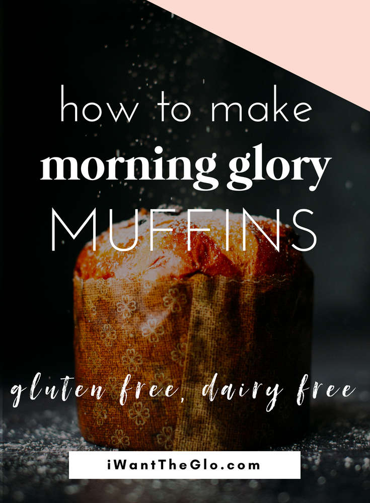 Here is my version of my favorite coffee shop muffins. Packed with antioxidant-boosting superfoods, these Morning Glory muffins make the perfect breakfast (or afternoon snack). These morning glory muffins are gluten free, dairy free, and full of nutrition!