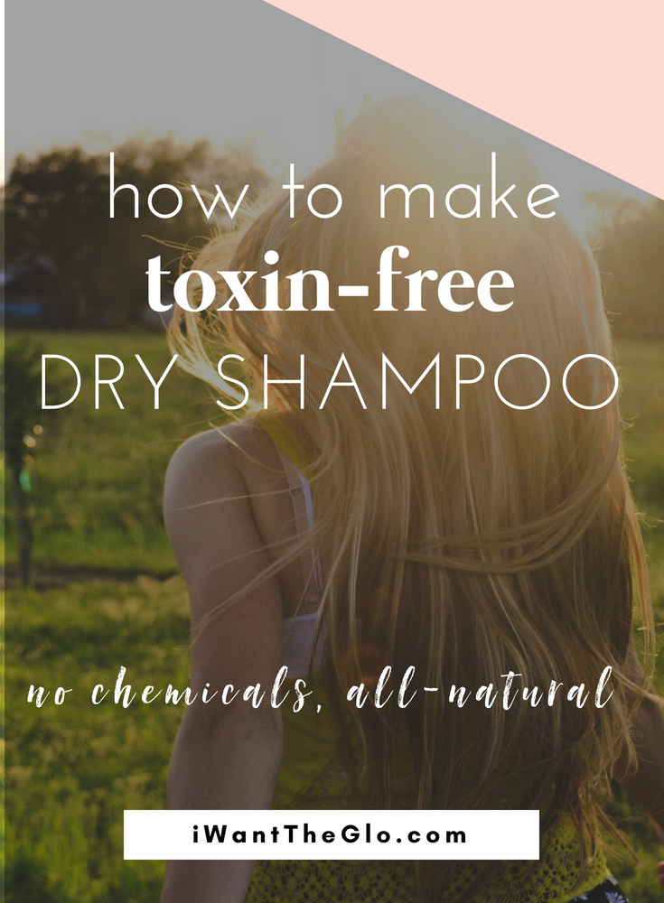 Most of us use a great deal of chemicals and toxins on our skin daily in the form of soaps, shampoos, deodorants, and makeup. In search for a healthy dry shampoo recently, I was stunned at the ingredient list - it was full of harmful chemicals. The good news is you can make easy chemical-free swaps for your most-used beauty products, such as this recipe for all natural dry shampoo.