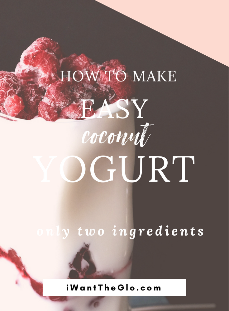 If you're trying to eat less dairy and look for other options to include in your diet, this simple coconut milk yogurt fits the bill perfectly - it's dairy free, paleo, sugar-free and it's made from two ingredients. The final product has a tangy greek-yogurt-like taste that goes well with sweet or savory dishes: top the yogurt with fresh fruit, or use a spoonful on top of pancakes or latkes.