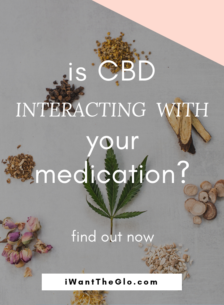 CBD is wonderful - it has the potential to help many people and is relatively safe for consumption.  However, CBD taken orally (as a tincture) interacts with a LOT of pharmaceutical drugs because CBD and these drugs share the same metabolic pathway. This pathway, called Cytochrome-P450, contains enzymes that are essential for the metabolism of many medications. This includes many common over the counter drugs (like NSAIDS and antihistimines).