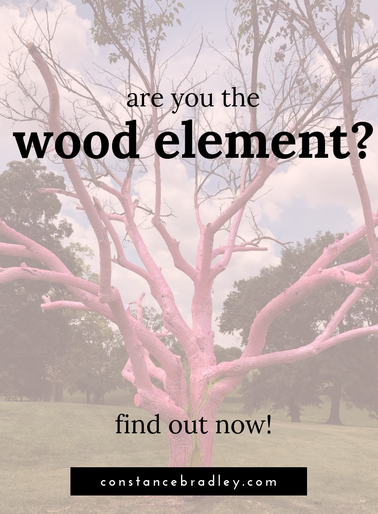 We will close out our deep dive into Chinese five element theory with a look at what it means when someone is governed by the Wood element (not sure which element governs you? Check out   THIS   post)  When someone is governed by Wood, they are strongly influenced by goals, motivation, and action.