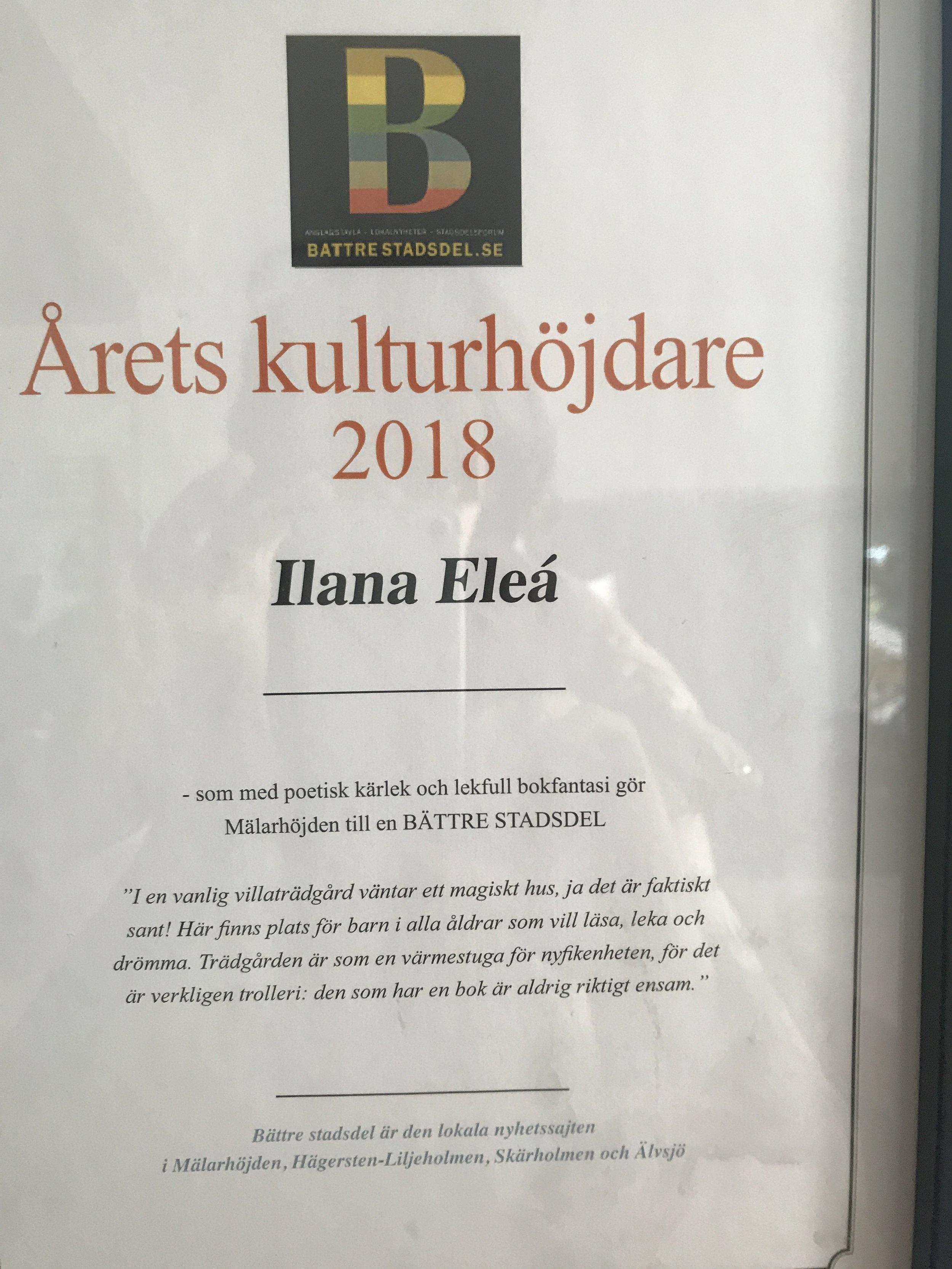 Bibliotek Barnstugan Battre Stadsdel Ilana Eleá Mälarhöjden