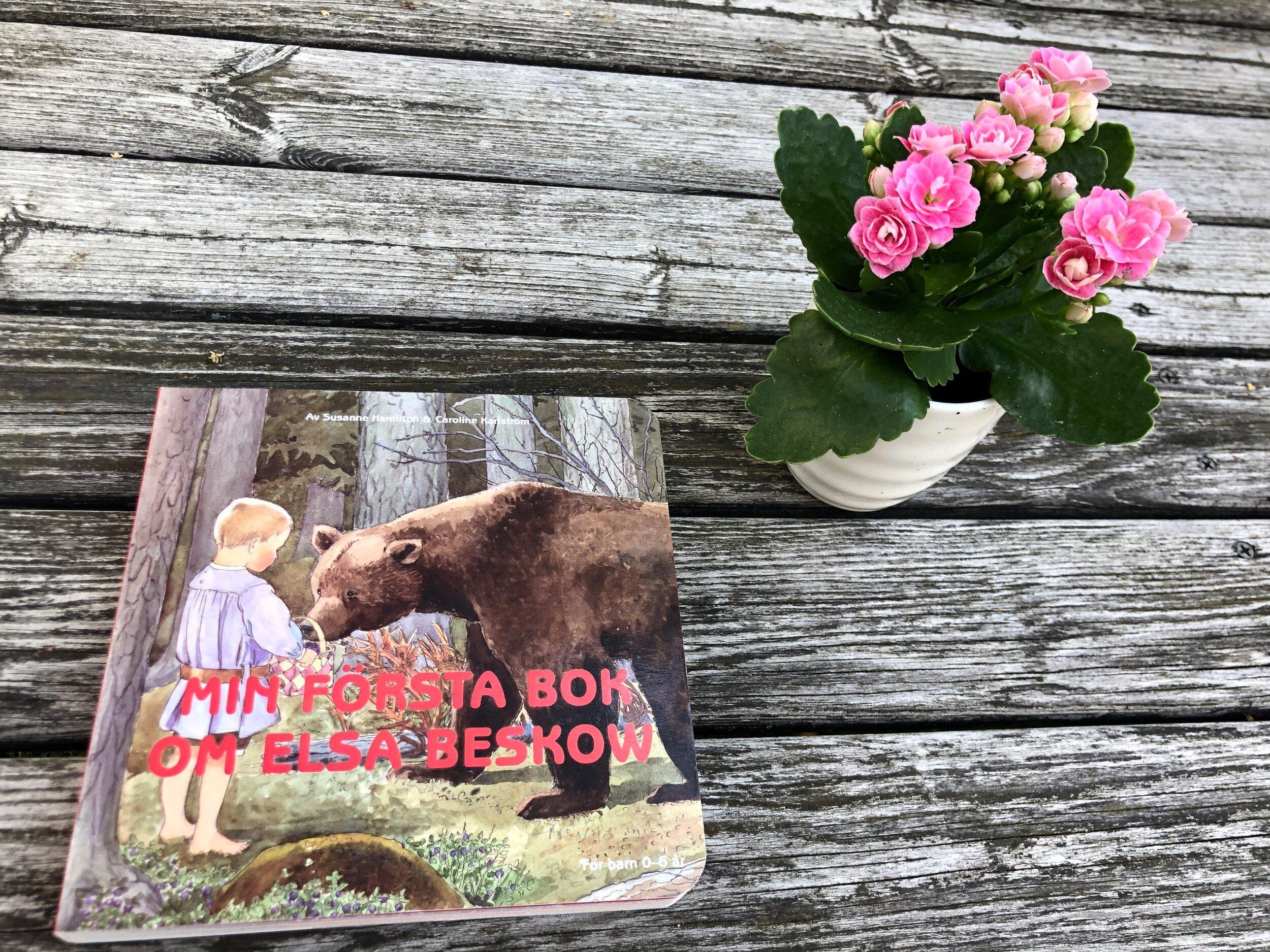 Min första bok om Elsa Beskov av Susanne Hamilton & Caroline Karlström Bibliotek Barnstugan Ilana Eleá