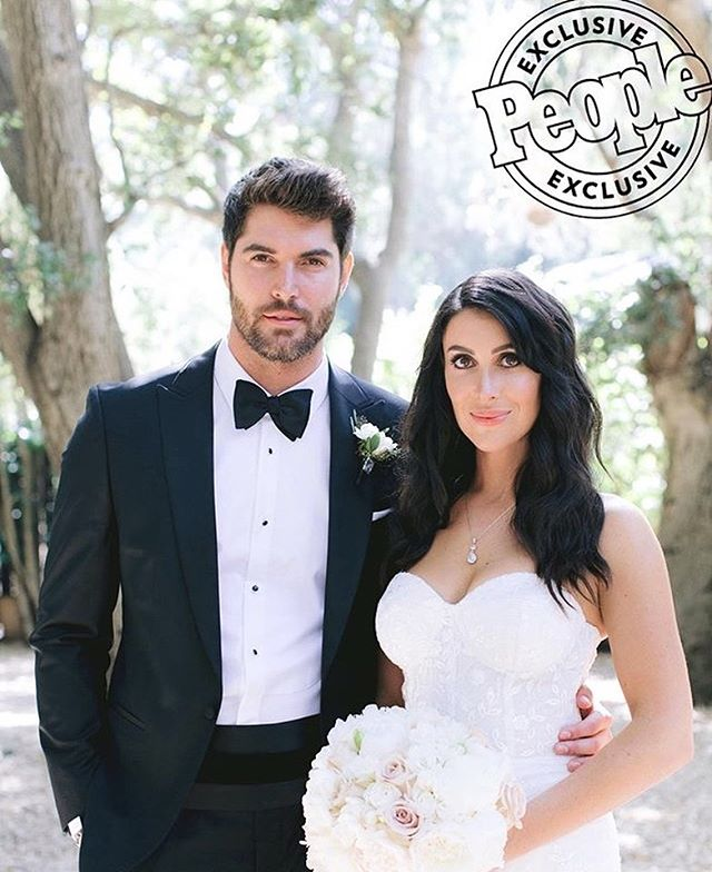 Hot off the @people press! This wedding between @maria__corrigan and @nick__bateman was a stunner!! Absolutely incredible. We were thrilled to provide the soundtrack and excited to be part of such an incredible team! 🙌🏼 Planner: @charleybluebell  Photographer: @jennyquicksall Cinematography: @azizsudios Florals: @butterflyfloral Venue: @calamigosranch Gown: @trishpeng Rentals: @chiavarichairrentals Linens: @latavolalinen Hair: @salonbenjamin Bride makeup: @makeuptheraphy Bridesmaids makeup: @805makeup Cake: @thebutterend Donuts: @primosdonuts Photobooth: @hashtagphotobooth Lighting: @thelightersidela  Reverend: @clinthufft Calligraphy: @calligkatrina DJ: @thisisgoodmood . . . . . . . . #PeopleMagazine #CelebrityWedding #WeddingInspiration #WeddingDJ #Forever #Bride #Groom #Calamigosranch #Everything #PicOfTheDay #InstagramOr's #InstaGood #ThisIsEverything #WeddingGoals #Model #TheBest #ThisIsGoodMood