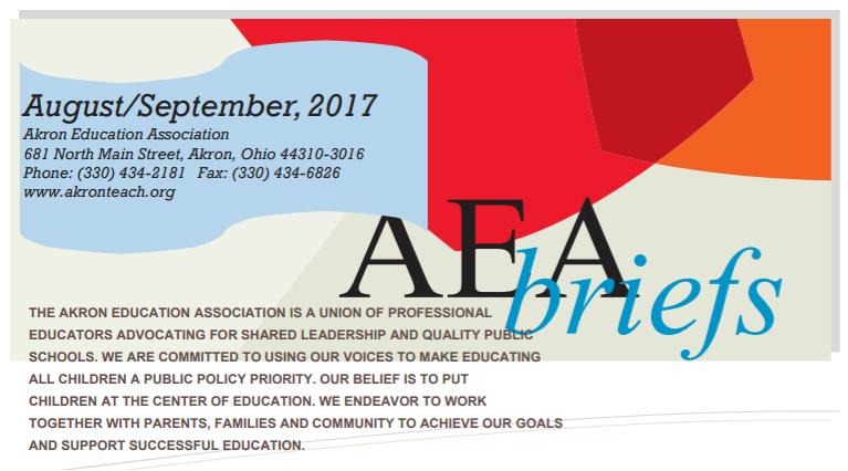 AEA Briefs - August/September 2017