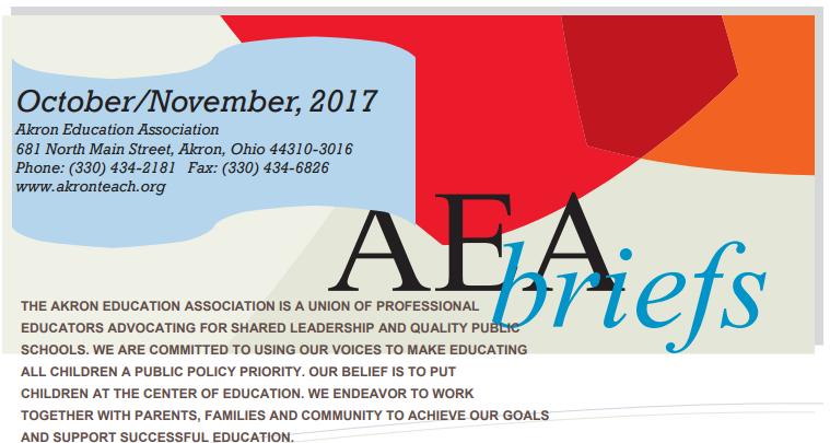 AEA Briefs - October/November 2017