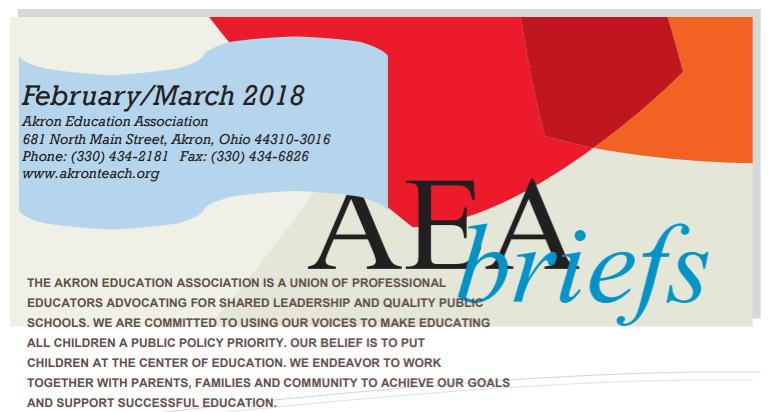 AEA Briefs - February/March 2018