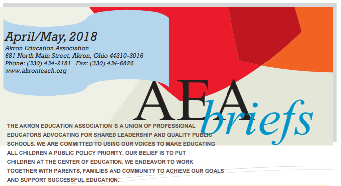 AEA Briefs - April/May 2018