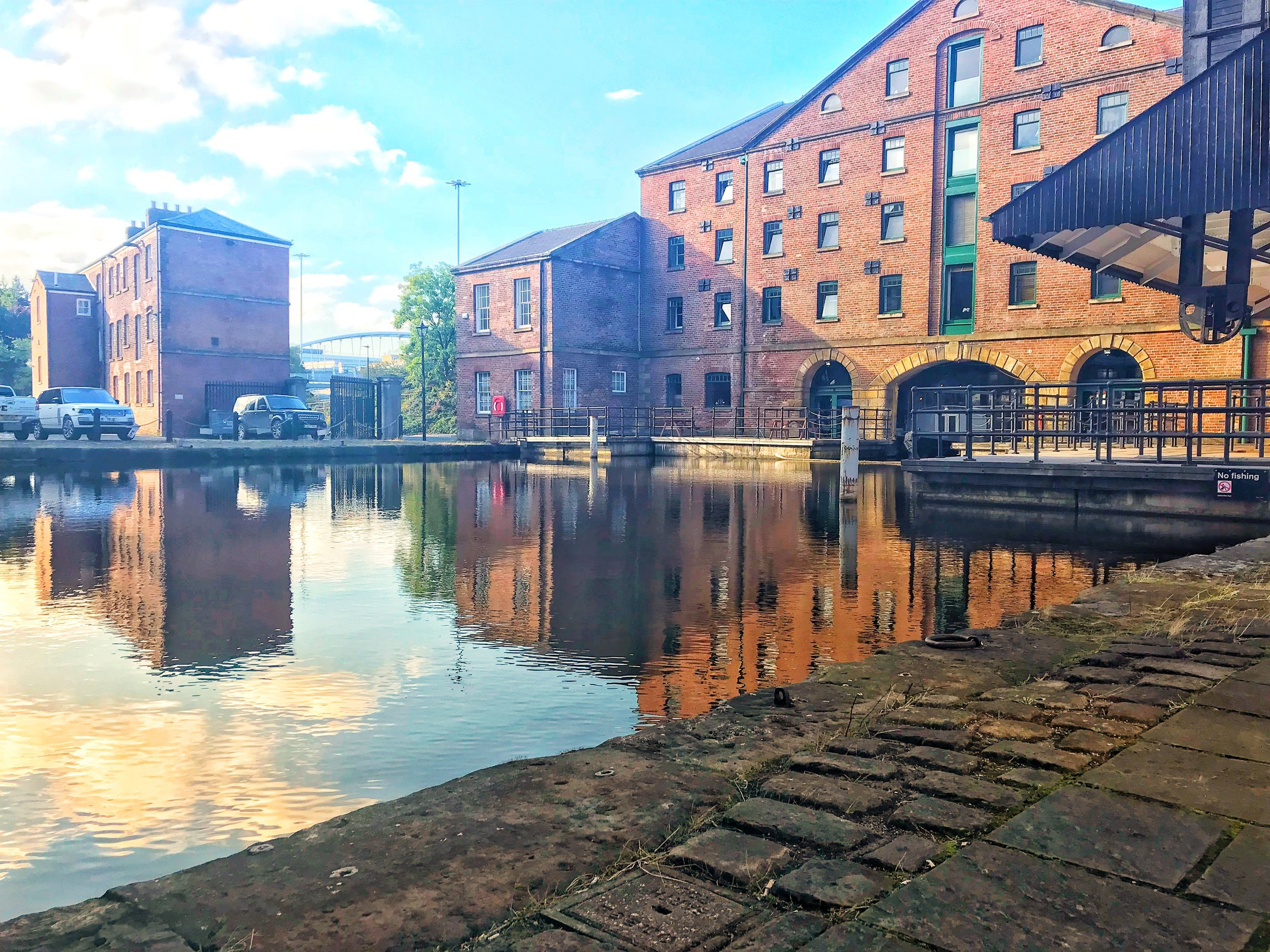 Our Latest venue. Victoria Quays, Sheffield