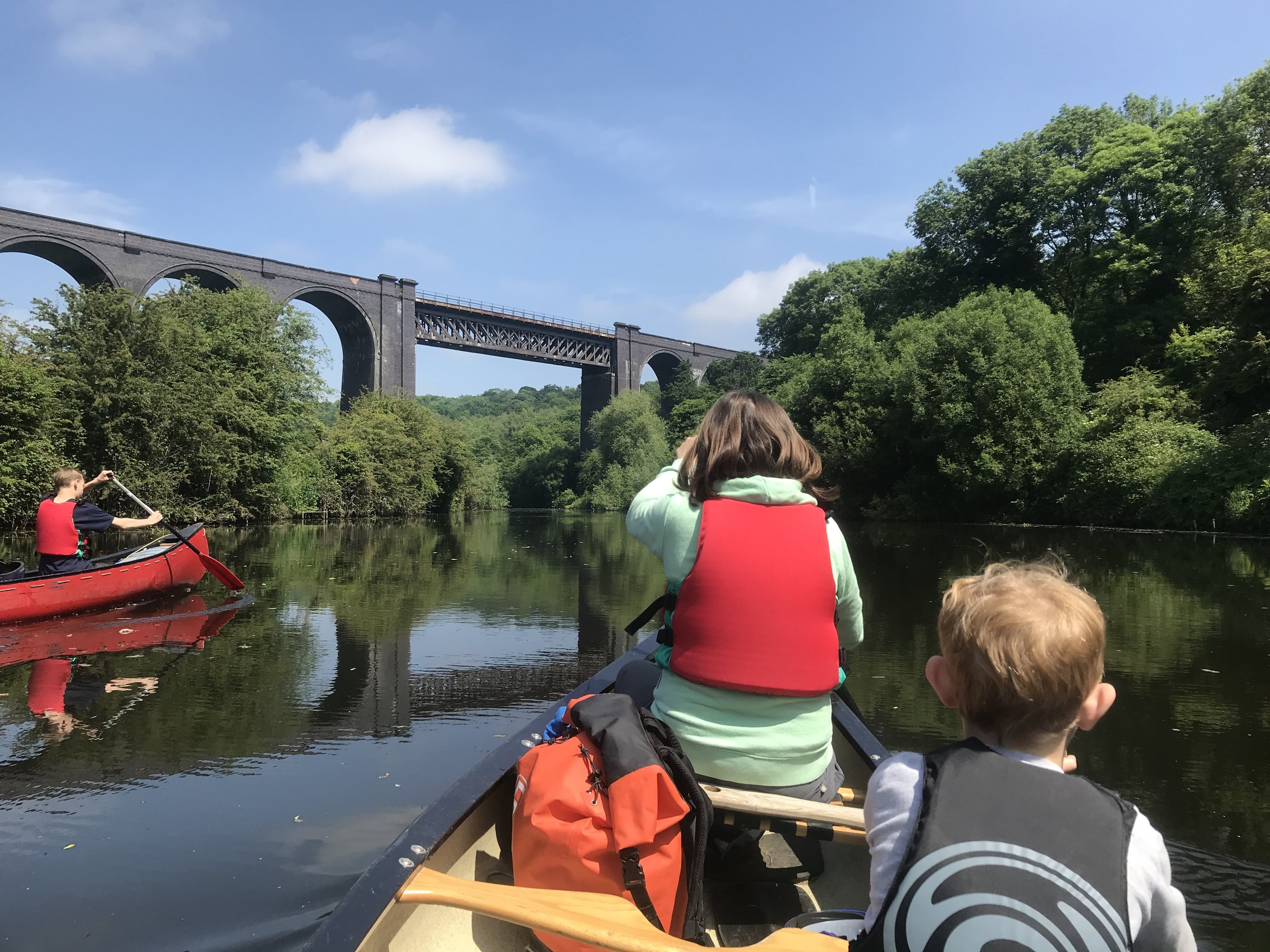Family Adventure Day on the River Don,