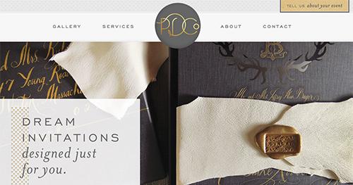 PARADISE DESIGN CO  Custom WordPress Website