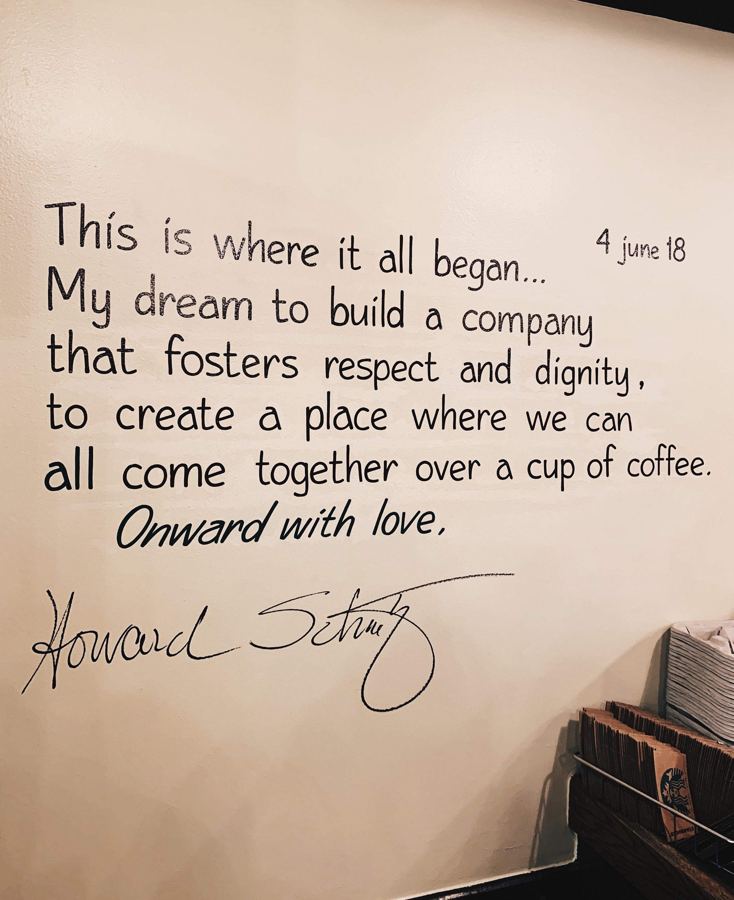 Inside the Original Starbucks